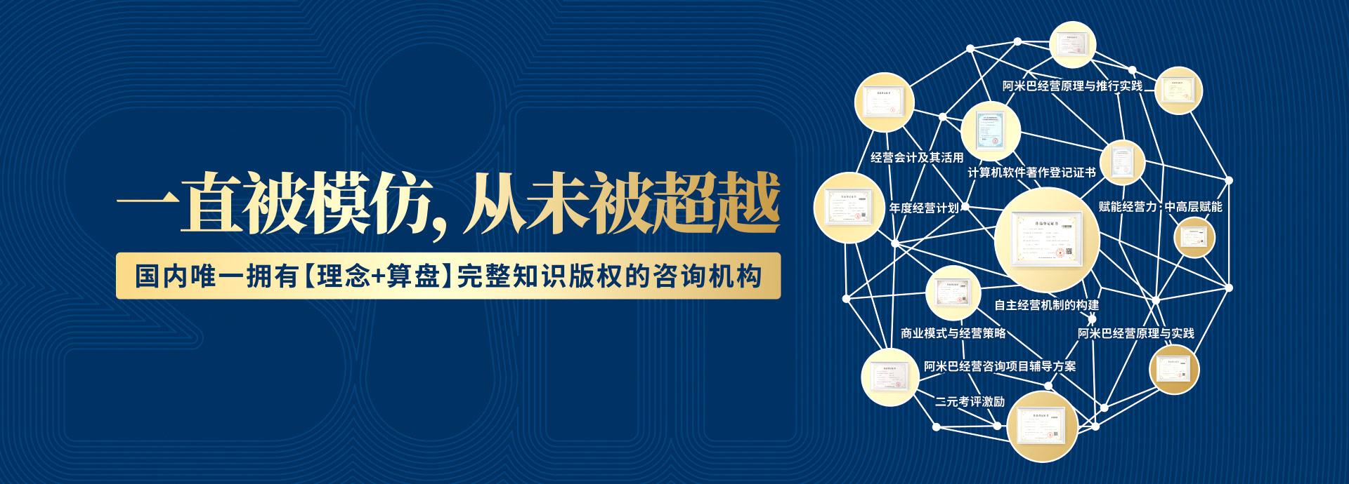 广州道成咨询-广州市阿米巴经营管理研究院-阿米巴版权证书banner