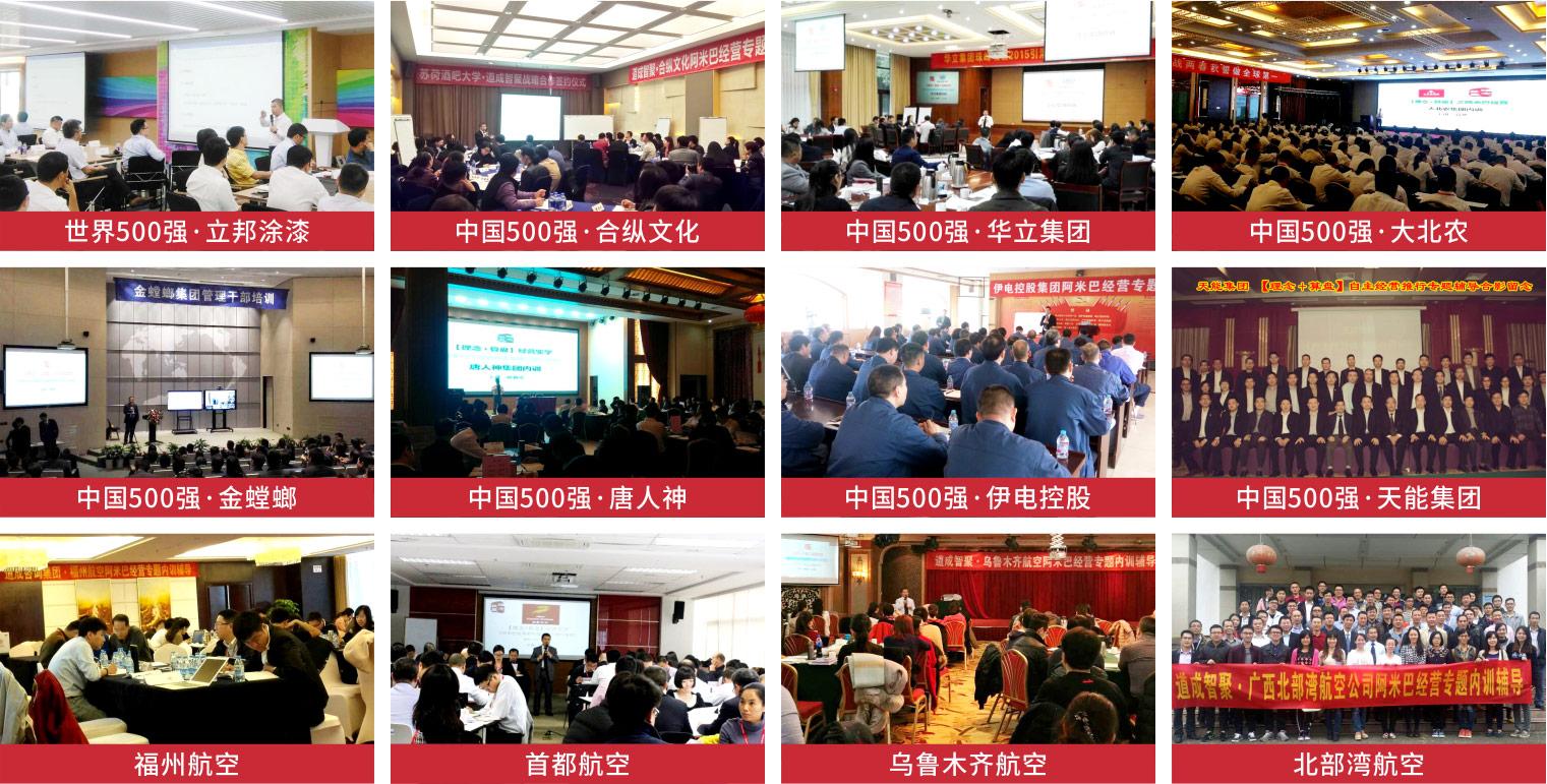 广州道成咨询-阿米巴咨询公司道成简介-500强、领军企业首选田和喜-部分案例1
